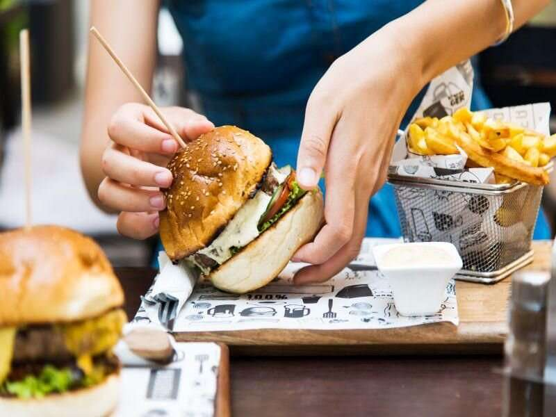 Too much restaurant fare could shorten your life