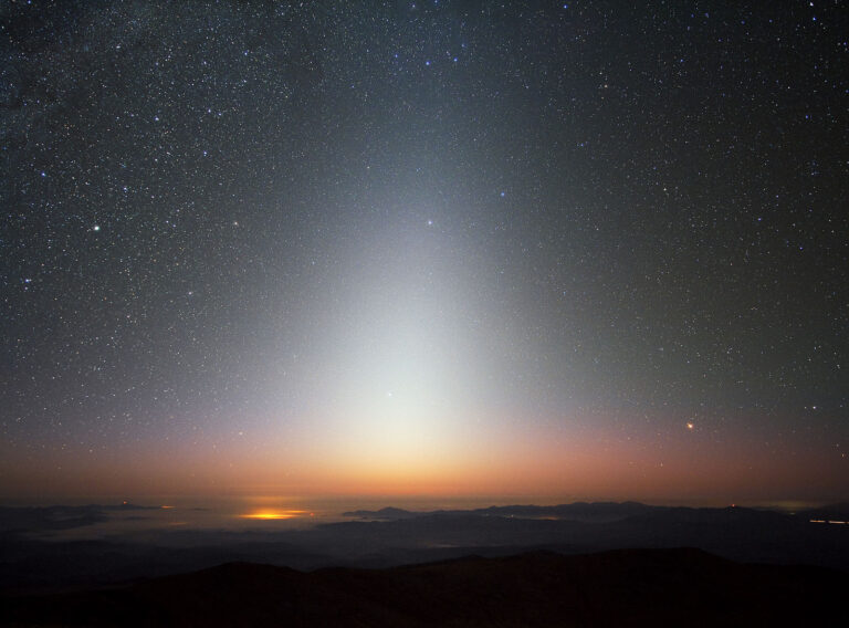 Look For the Pyramid of Light in the Night Sky Known as the Zodiacal Glow